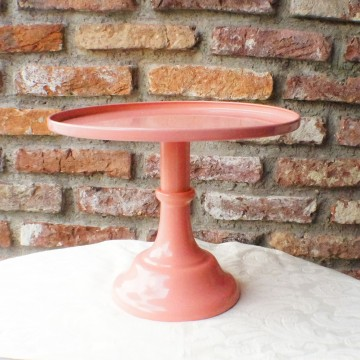 "10"" Pink Cake Stand"