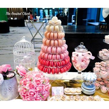 Macaron tower (up to 8 tiers)