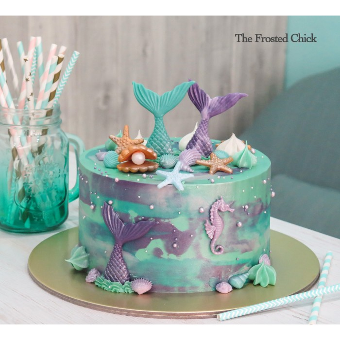 Princesses, unicorn and mermaid themed