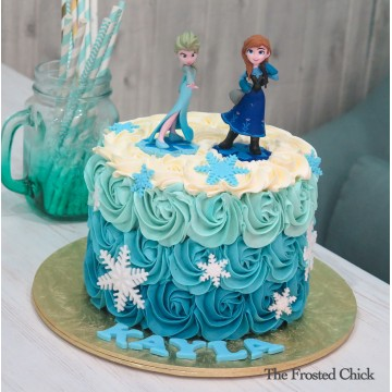 Frozen Cake (Elsa and Anna)