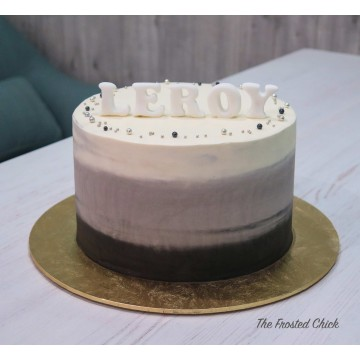 Ombre Smooth Cake