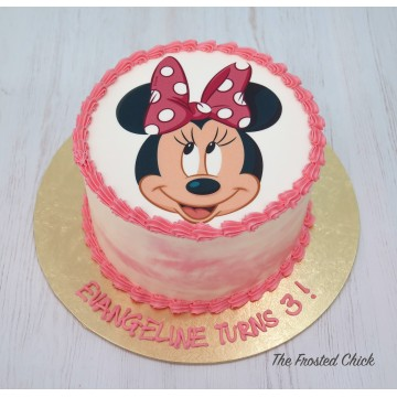 Printed Icing Cake (Top)