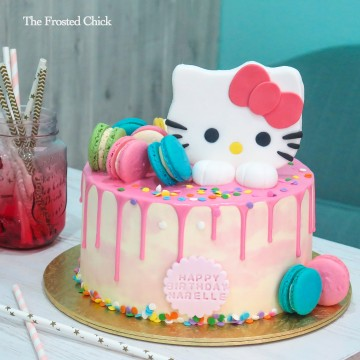 Hello Kitty Fondant Topper