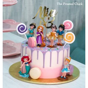 Princess Drip Cake