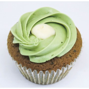 Matcha White Chocolate Cupcake