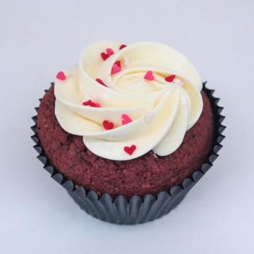 Nutella Velvet Cupcake