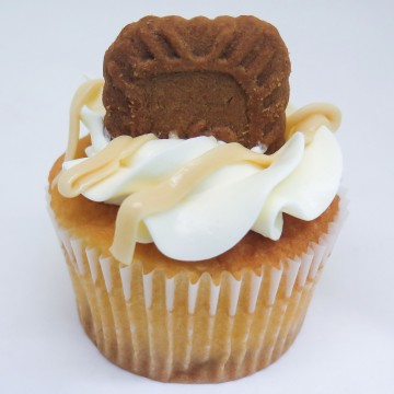 Salted Caramel Biscoff Cupcake