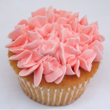 Strawberry Surprise Cupcake