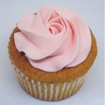 Vanilla Lychee Cupcake