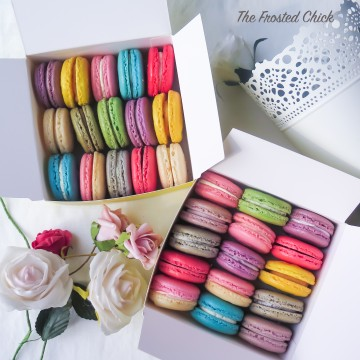 Box of 15 Macarons (Assorted)